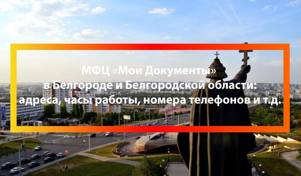 МФЦ Белый Колодезь (село), Шебекинский район