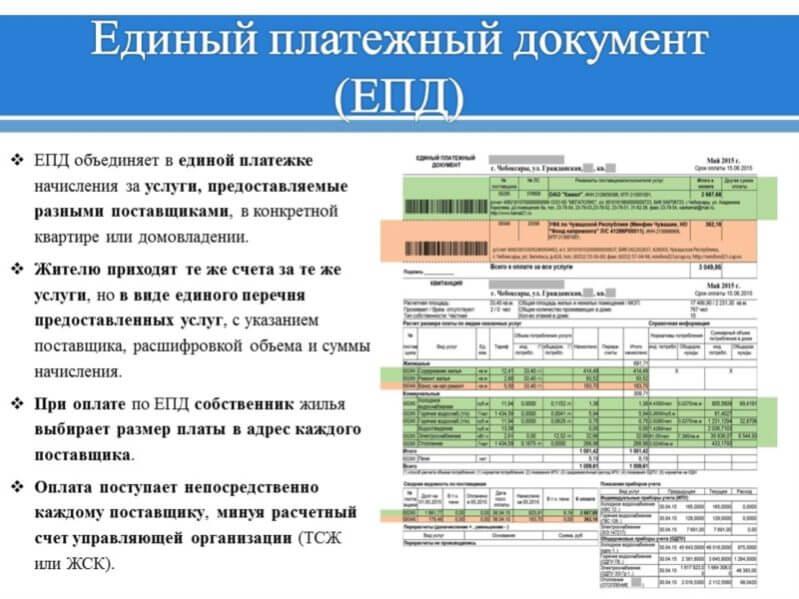 Единый платежный документ